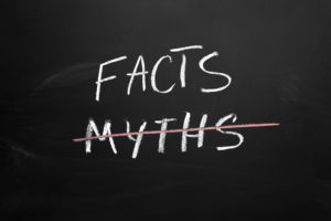 Myths or Facts concept