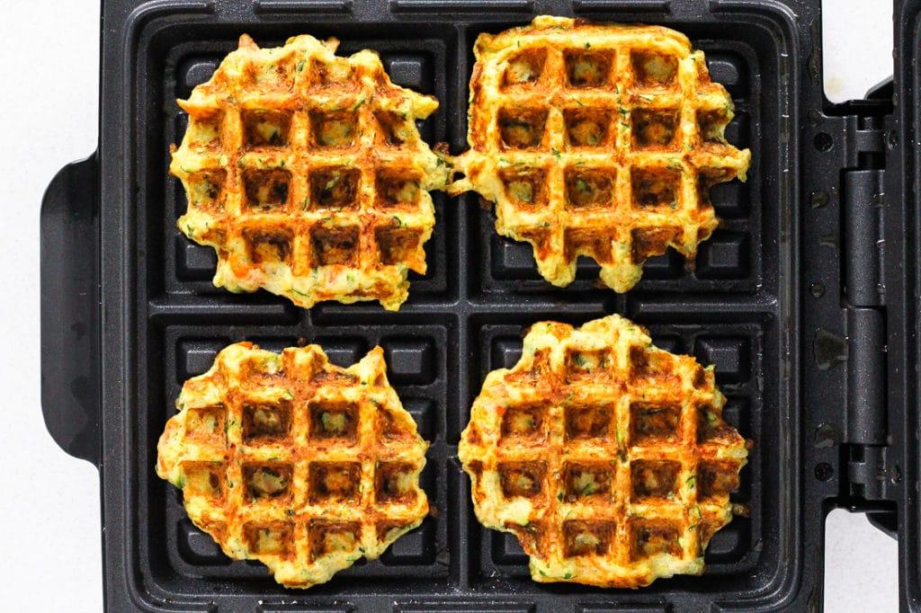 Gluten-Free Savory Veggie Waffles
