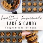 Homemade take 5 candy pinterest graphic