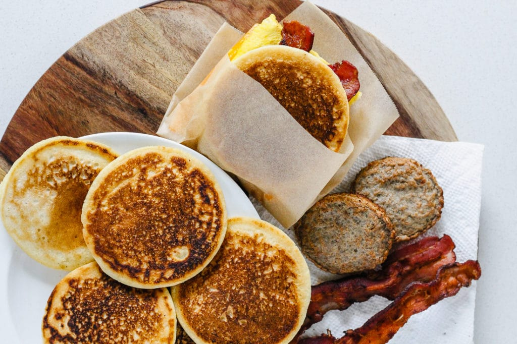 Healthy Homemade McGriddle (Gluten-Free, Paleo, Keto-Friendly)