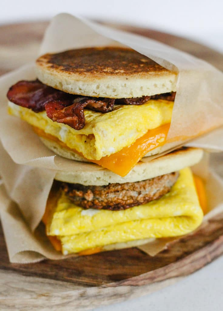Healthy McGriddle (Paleo, Gluten-Free, Keto-Friendly)