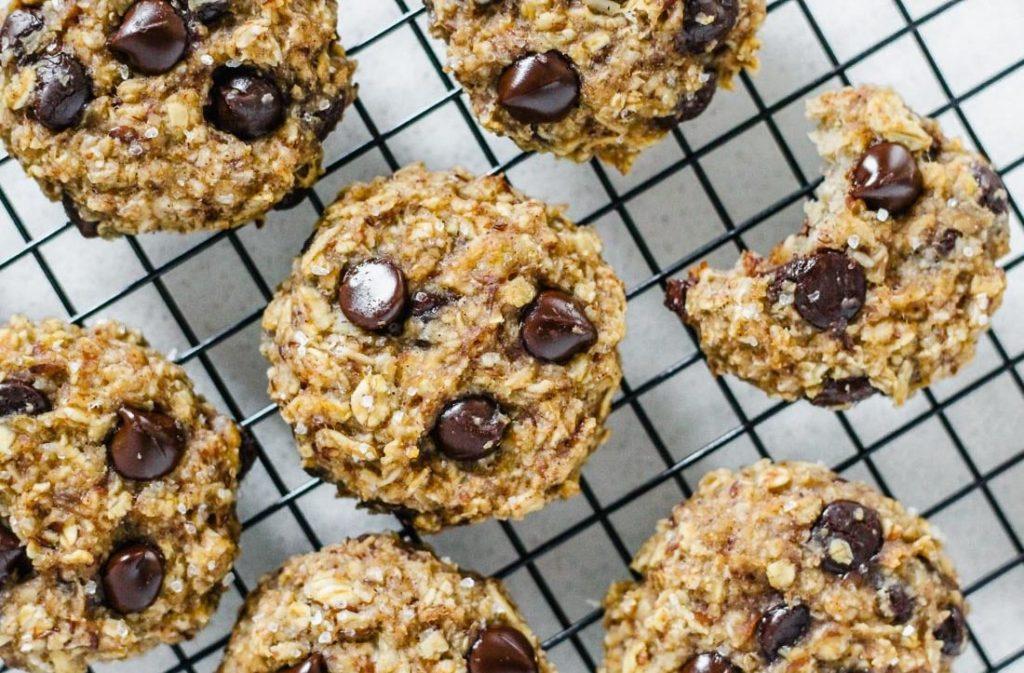 Healthy Banana Oatmeal Breakfast Cookies